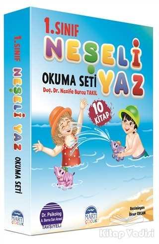 Martı Çocuk Yayınları - 1. Sınıf Neşeli Yaz Okuma Seti (10 Kitap Takım)
