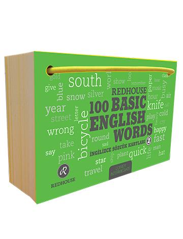 Redhouse Yayınları - Redhouse 100 Basic English Words 2