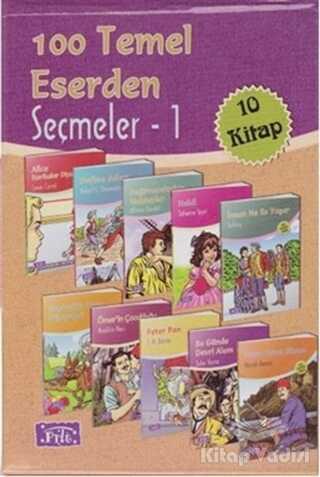 Parıltı Yayınları - 100 Temel Eserden Seçmeler 1 (10 Kitap Takım)