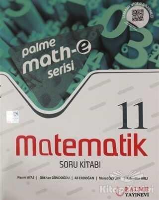 Palme Yayıncılık - Hazırlık Kitapları - 11. Sınıf Matematik Soru Kitabı
