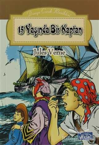 Parıltı Yayınları - 15 Yaşında Bir Kaptan