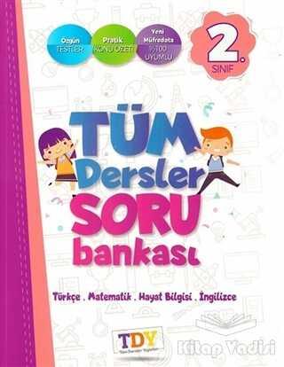 TDY Yayınları - 2. Sınıf Tüm Dersler Soru Bankası