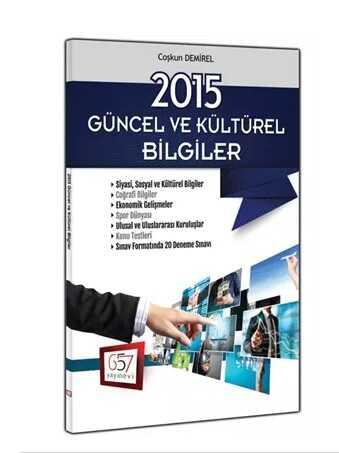 657 Yayınevi - 2015 Güncel ve Kültürel Bilgiler