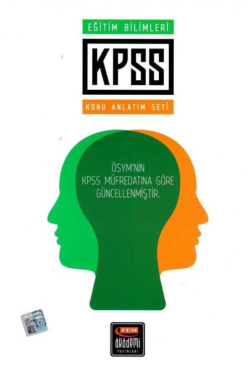 Fem Yayınları - 2015 KPSS Eğitim Bilimleri Konu Anlatım Seti (7 Kitap)
