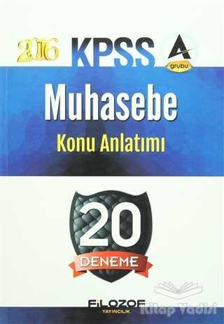 Filozof Yayıncılık - 2016 KPSS Muhasebe Konu Anlatımı 20 Deneme