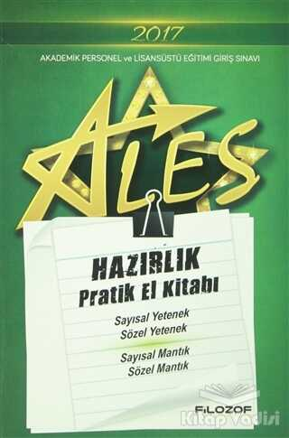 Filozof Yayıncılık - 2017 ALES Hazırlık Pratik El Kitabı