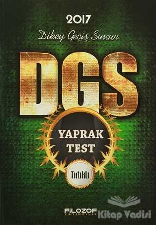 Filozof Yayıncılık - 2017 DGS Tırtıklı Yaprak Test