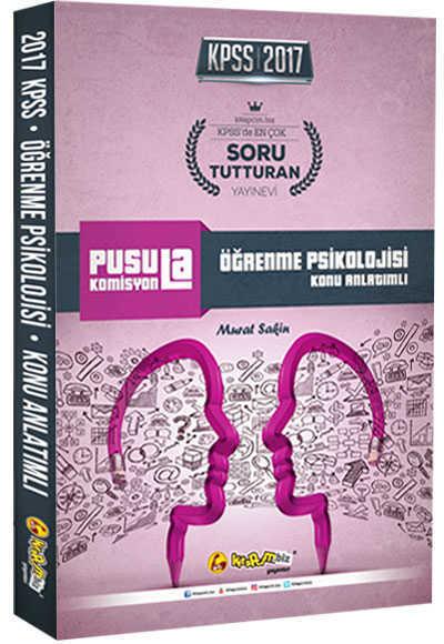 2017 Kpss Pusula Komisyon Öğrenme Psikolojisi Konu Anlatımlı Kitapcim.Biz Yay.