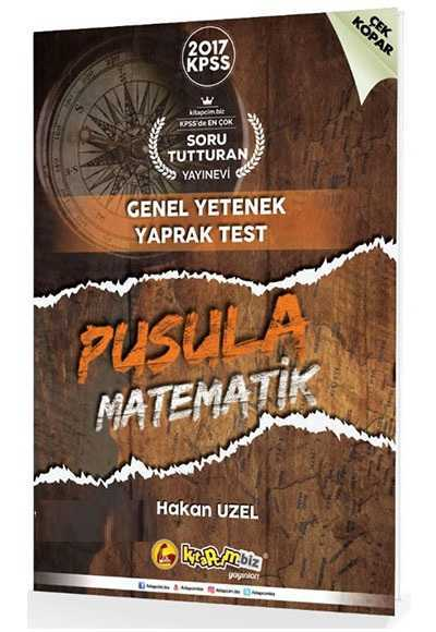 2017 Kpss Pusula Matematik Çek Kopar Yaprak Test Kitapcim.Biz Yayınlar