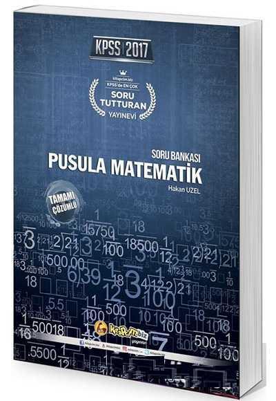 2017 Kpss Pusula Matematik Soru Bankası Kitapcim.Biz Yayınları
