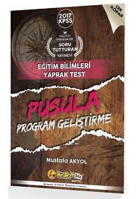 2017 Kpss Pusula Program Geliştirme Çek Kopar Yaprak Test Kitapcim.Biz