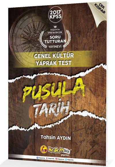 2017 Kpss Pusula Tarih Çek Kopar Yaprak Test Kitapcim.Biz Yayınları