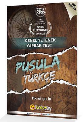 2017 Kpss Pusula Türkçe Çek Kopar Yaprak Test Kitapcim.Biz Yayınları