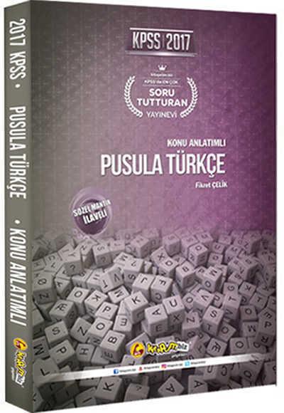 2017 Kpss Pusula Türkçe Konu Anlatımlı / Kitapcim.Biz Yay.