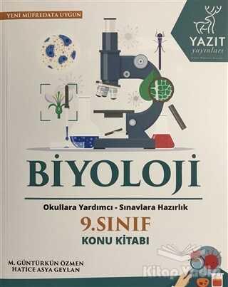 Yazıt Yayınları - 2019 9. Sınıf Biyoloji Konu Kitabı