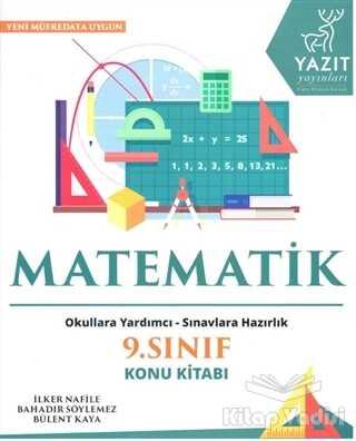 Yazıt Yayınları - 2019 9. Sınıf Matematik Konu Kitabı