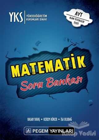 Pegem Akademi Yayıncılık - 2019 YKS AYT Matematik Soru Bankası