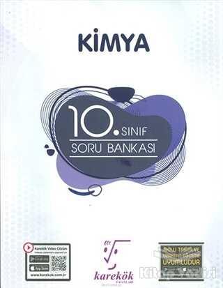 Karekök Yayıncılık - 10. Sınıf Kimya Soru Bankası