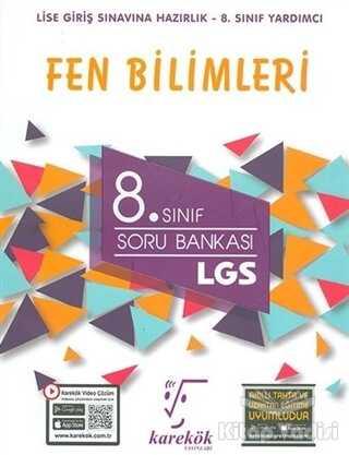 Karekök Yayıncılık - 2021 LGS 8. Sınıf Fen Bilimleri Soru Bankası