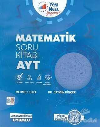 Yeni Nesil Yayınevi - 2020 AYT Matematik Soru Kitabı