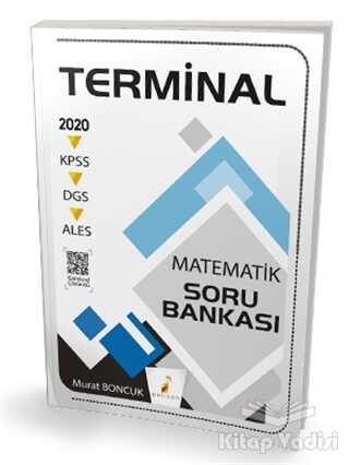 Pelikan Tıp Teknik Yayıncılık - 2020 KPSS DGS ALES Terminal Matematik Dijital Çözümlü Soru Bankası