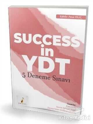 Pelikan Tıp Teknik Yayıncılık - 2021 Success in YDT İngilizce Çek Kopart 5 Deneme Sınavı