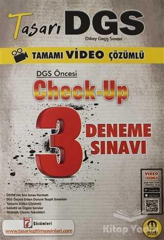 Tasarı Yayıncılık - 2021 Tasarı DGS Öncesi Check Up Video Çözümlü 3 Deneme