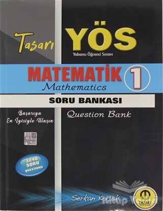 Tasarı Yayıncılık - YÖS - 2021 YÖS Matematik 1 Soru Bankası