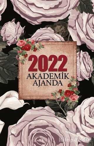 Halk Kitabevi - 2022 Akademik Ajanda – Kara Gül