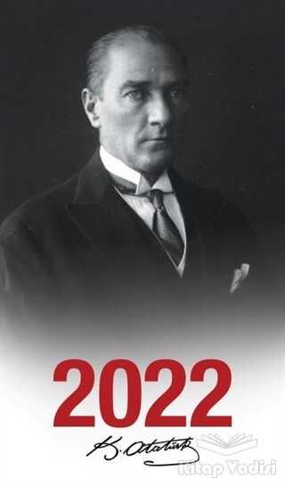 Halk Kitabevi - 2022 Atatürk Ajandası Başöğretmen - Çerçeveli
