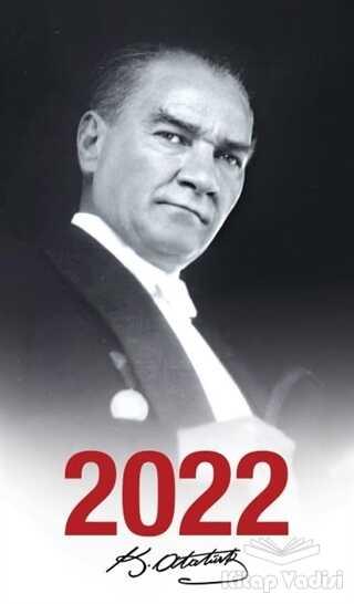 Halk Kitabevi - 2022 Atatürk Ajandası Gazi Paşa - Çerçeveli