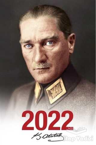 Halk Kitabevi - 2022 Atatürk Ajandası Mareşal - Beyaz