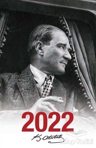 Halk Kitabevi - 2022 Atatürk Ajandası Mustafa Kemal - Beyaz