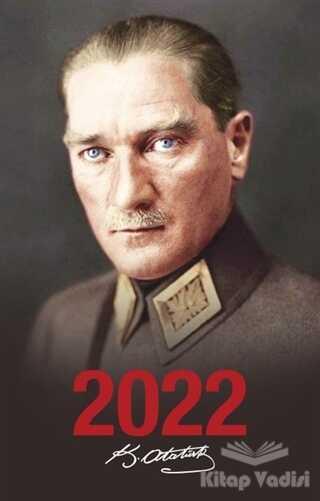 Halk Kitabevi - 2022 Atatürk Ajandası Önder - Siyah