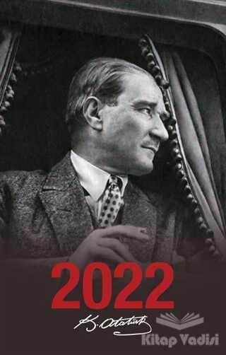 Halk Kitabevi - 2022 Atatürk Ajandası Ulu Önder - Siyah