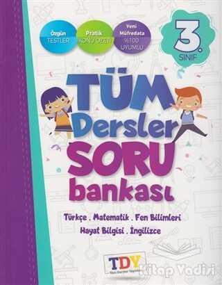 TDY Yayınları - 3. Sınıf Tüm Dersler Soru Bankası