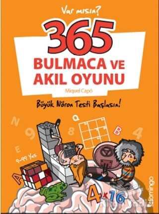 Domingo Yayınevi - 365 Bulmaca ve Akıl Oyunu