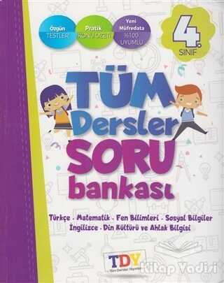 TDY Yayınları - 4. Sınıf Tüm Dersler Soru Bankası