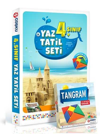 Coşku Yayınları - 4. Sınıf Yaz Tatil Seti