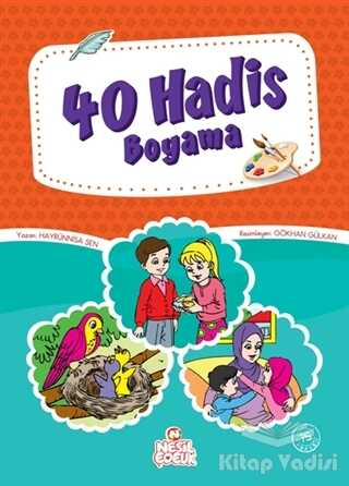 Nesil Çocuk Yayınları - 40 Hadis Boyama