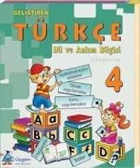 Üçgen Yayınları - 4.Sınıf Geliştiren Türkçe Dil Ve Anlam Bilgisi