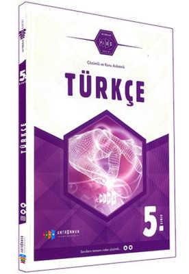 Antrenman Yayınları - 5.SINIF TÜRKÇE ÇÖZÜMLÜ KA / PLUS SERİSİ / Antrenman yay.