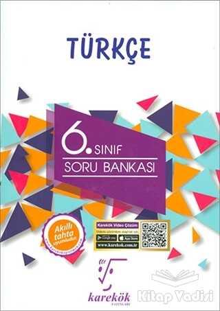 Karekök Yayıncılık - 6. Sınıf Türkçe Soru Bankası