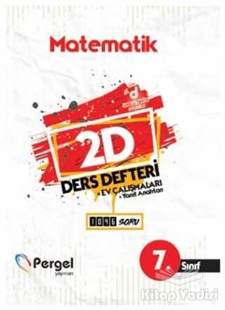 Pergel Yayınları - 7. Sınıf Matematik 2D Ders Defteri