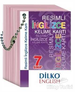 Dilko Yayıncılık - 7. Sınıf Resimli İngilizce Kelime Kartı