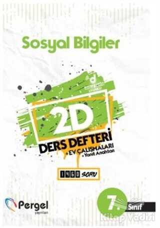 Pergel Yayınları - 7. Sınıf Sosyal Bilgiler 2D Ders Defteri