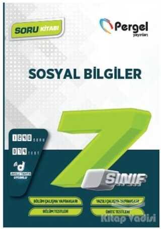 Pergel Yayınları - 7. Sınıf Sosyal Bilgiler Soru Bankası