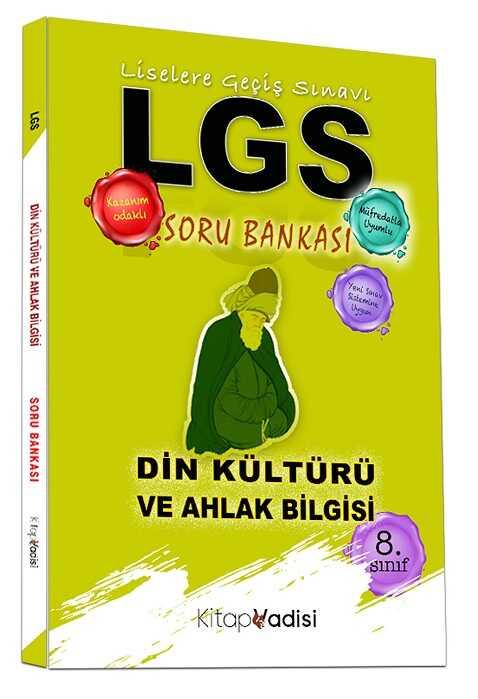 Kitap Vadisi Yayınları - 8. Sınıf LGS Din Kültürü ve Ahlak Bilgisi Soru Bankası
