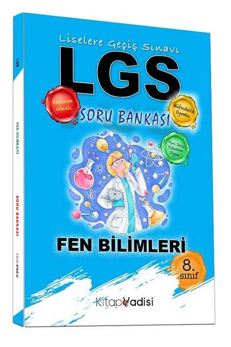 Kitap Vadisi Yayınları - 8. Sınıf LGS Fen Bilimleri Soru Bankası