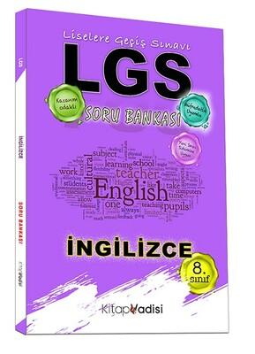 Kitap Vadisi Yayınları - 8. Sınıf LGS İngilizce Soru Bankası